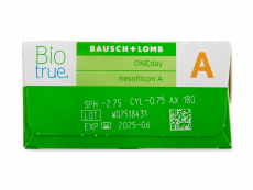 Biotrue ONEday for Astigmatism (30 soczewek)