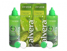 Płyn do soczewek Alvera Solution 2 x 350 ml