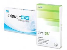 Clear 58 (6 soczewek)