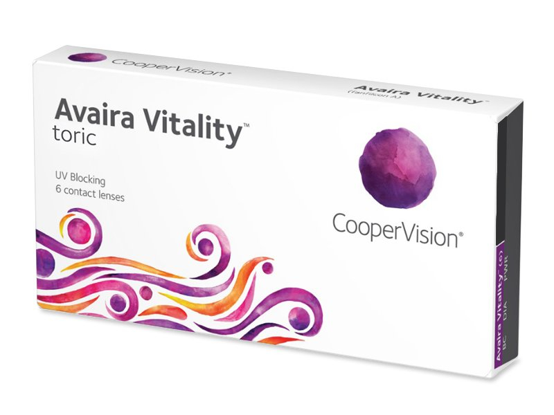 Avaira Vitality Toric (6 soczewek)