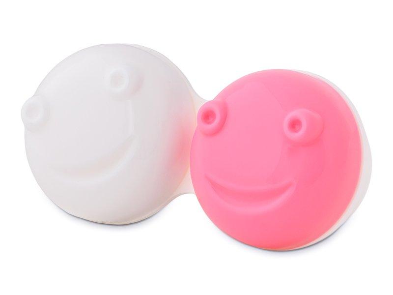 Pojemnik do wibracyjnego czyszczenia - różowy