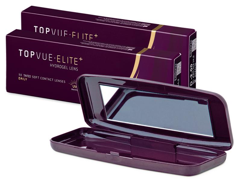 TopVue Elite+ (10 par) + Lenscase TopVue Elite