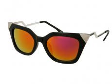 Okulary przeciwsłoneczne Alensa Cat Eye Shiny Black Mirror