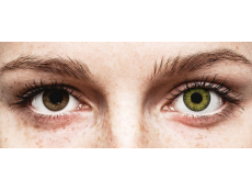 Air Optix Colors - Gemstone Green - korekcyjne (2 soczewki)
