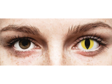ColourVUE Crazy Lens - Cat Eye - zerówki (2 soczewki)
