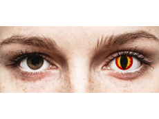 ColourVUE Crazy Lens - Dragon Eyes - zerówki (2 soczewki)