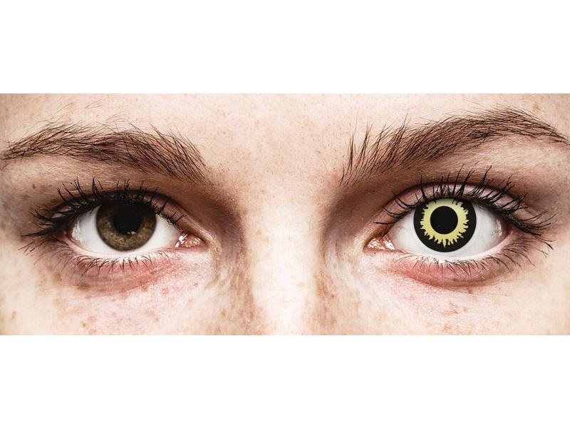 ColourVUE Crazy Lens - Eclipse - zerówki (2 soczewki)