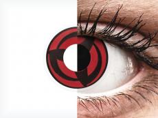 ColourVUE Crazy Lens - Kakashi - zerówki (2 soczewki)