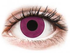 ColourVUE Crazy Lens - Purple - zerówki (2 soczewki)
