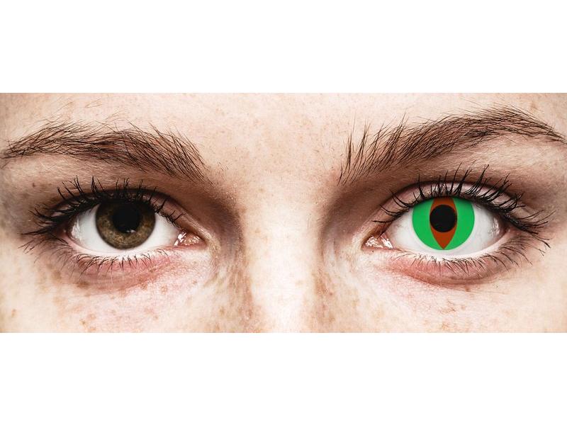 ColourVUE Crazy Lens - Raptor - zerówki (2 soczewki)
