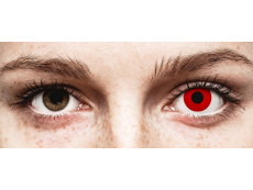 ColourVUE Crazy Lens - Red Devil - zerówki (2 soczewki)