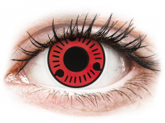 ColourVUE Crazy Lens - Sasuke - zerówki (2 soczewki)