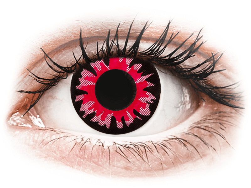 ColourVUE Crazy Lens - Volturi - zerówki (2 soczewki)