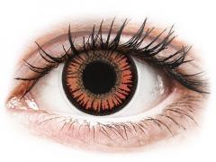 ColourVUE Crazy Lens - Vampire - zerówki (2 soczewki)