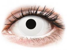 ColourVUE Crazy Lens - WhiteOut - korekcyjne (2 soczewki)