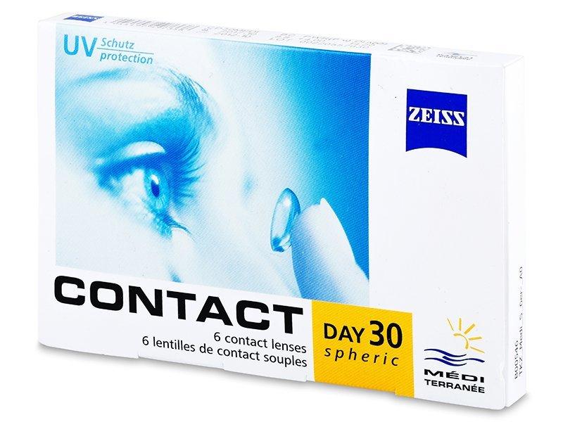 Carl Zeiss Contact Day 30 Spheric (6soczewek)