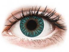 TopVue Color - Turquoise - korekcyjne (2 soczewki)