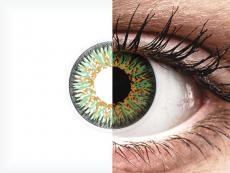 ColourVUE Glamour Green - korekcyjne (2 soczewki)