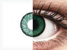 SofLens Natural Colors Amazon - zerówki (2 soczewki)