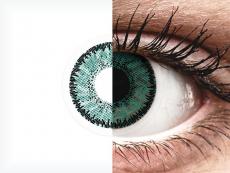 SofLens Natural Colors Jade - zerówki (2 soczewki)