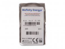 Biofinity Energys (3 soczewki)