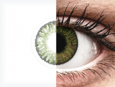 FreshLook ColorBlends Green - zerówki (2 soczewki)