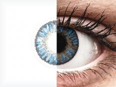 FreshLook ColorBlends True Sapphire - korekcyjne (2 soczewki)