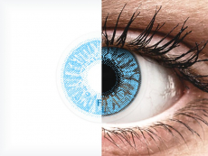 FreshLook Colors Sapphire Blue - korekcyjne (2 soczewki)