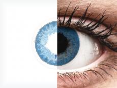 FreshLook Dimensions Pacific Blue - korekcyjne (6 soczewek)