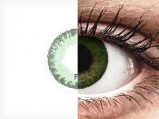 FreshLook Dimensions Sea Green - zerówki (2 soczewki)