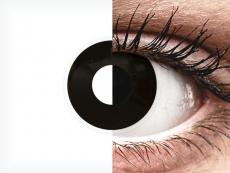 ColourVUE Crazy Lens - Blackout - jednodniowe zerówki (2 soczewki)