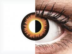 ColourVUE Crazy Lens - Orange Werewolf - jednodniowe zerówki (2 soczewki)