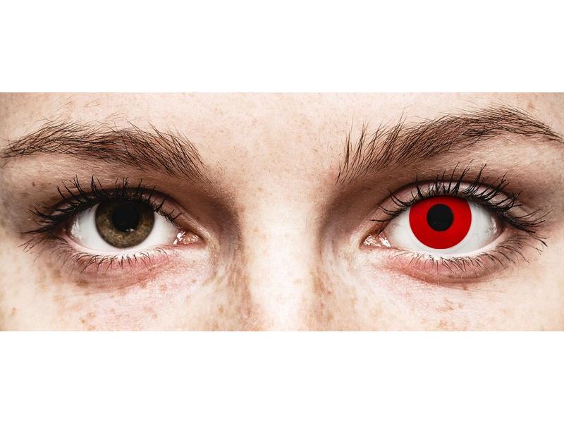 ColourVUE Crazy Lens - Red Devil - jednodniowe zerówki (2 soczewki)