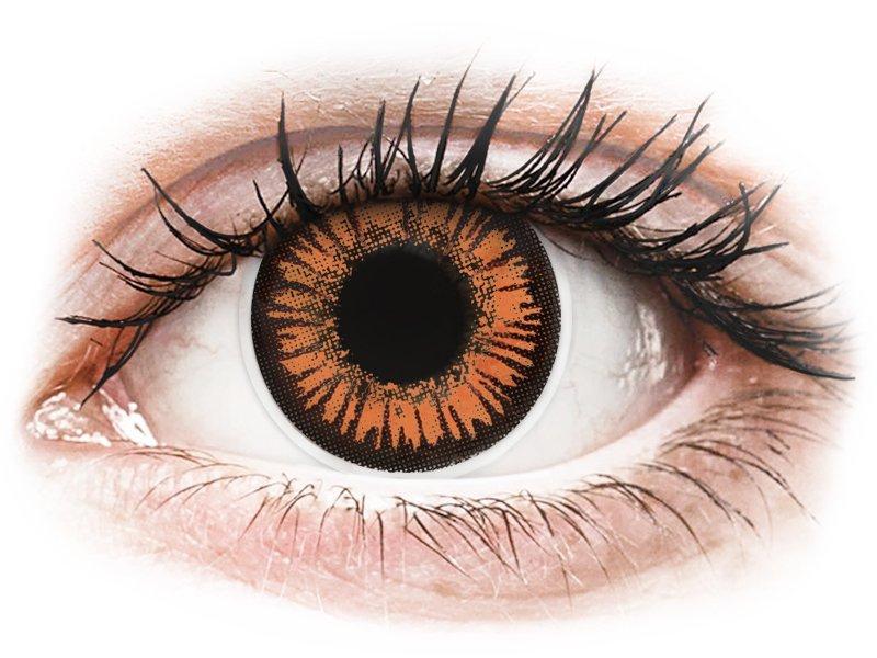 ColourVUE Crazy Lens - Twilight - jednodniowe zerówki (2 soczewki)