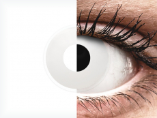 ColourVUE Crazy Lens - Whiteout - jednodniowe zerówki (2 soczewki)