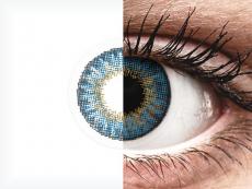 Air Optix Colors - True Sapphire - zerówki (2 soczewki)