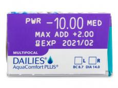 Dailies AquaComfort Plus Multifocal (30soczewek)