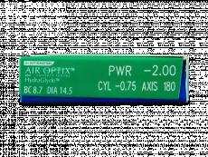 Air Optix plus HydraGlyde for Astigmatism (6soczewek)
