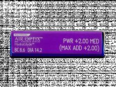 Air Optix plus HydraGlyde Multifocal (6soczewek)
