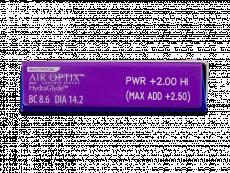 Air Optix plus HydraGlyde Multifocal (3 soczewki)