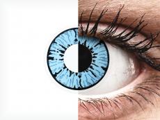 ColourVUE Crazy Lens - Blizzard - zerówki (2 soczewki)