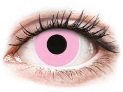 ColourVUE Crazy Lens - Barbie Pink - zerówki (2 soczewki)