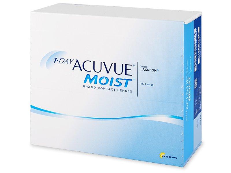 1 Day Acuvue Moist (180soczewek)