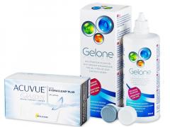 Acuvue Oasys (24 soczewek) + płynGelone 360 ml