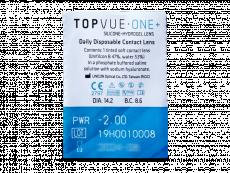 TopVue One+ (90 soczewek)
