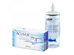 Acuvue Oasys for Astigmatism (12 soczewek) + płyn Laim-Care 400 ml
