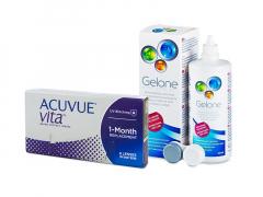 Acuvue Vita (6 soczewek) + płyn Gelone 360 ml
