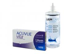 Acuvue Vita (6 soczewek) + płyn Laim-Care 400 ml