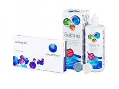 Biofinity XR (3 soczewki) + płyn Gelone 360 ml