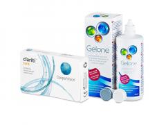 Clariti Toric (6 soczewek) + płyn Gelone 360 ml